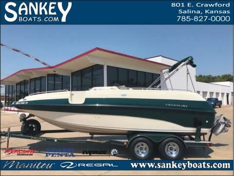 2000 Crownline 212 DB for sale at SankeyBoats.com in Salina KS