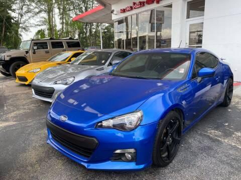 2013 Subaru BRZ for sale at Nation Autos Miami in Hialeah FL