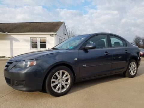 2008 Mazda MAZDA3 for sale at CarNation Auto Group in Alliance OH