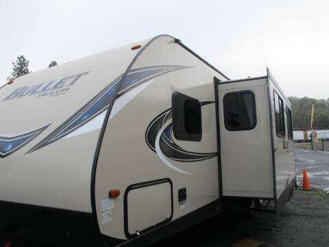2018 BULLET 287QB for sale at Oregon RV Outlet LLC - Travel Trailers in Grants Pass OR
