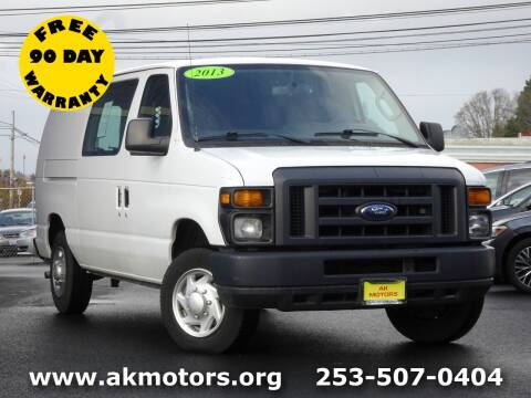 2013 Ford E-Series Cargo for sale at AK Motors in Tacoma WA