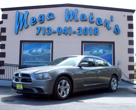 2012 Dodge Charger for sale at MEGA MOTORS in South Houston TX
