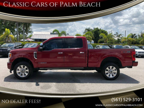 2017 Ford F-250 Super Duty for sale at Classic Cars of Palm Beach in Jupiter FL