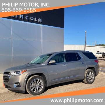 2019 Chevrolet Traverse for sale at Philip Motor Inc in Philip SD