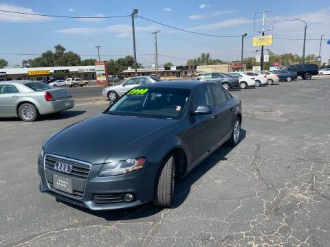 2009 Audi A4 for sale at University Auto Sales in Cedar City UT