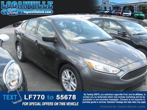 2018 Ford Focus for sale at Loganville Quick Lane and Tire Center in Loganville GA