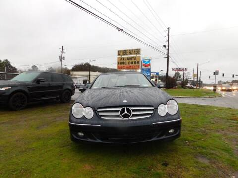 2009 Mercedes-Benz CLK for sale at Atlanta Fine Cars in Jonesboro GA