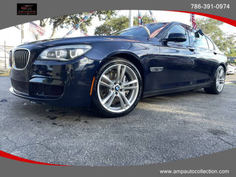 2013 BMW 7 Series for sale at Amp Auto Collection in Fort Lauderdale FL