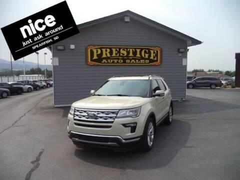 2018 Ford Explorer for sale at PRESTIGE AUTO SALES in Spearfish SD
