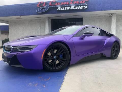2016 BMW i8 for sale at El Camino Auto Sales Gainesville in Gainesville GA