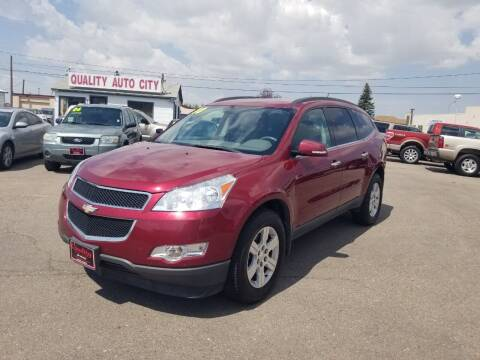 2010 Chevrolet Traverse for sale at Quality Auto City Inc. in Laramie WY
