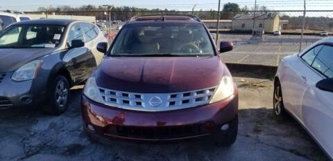 2005 Nissan Murano for sale at DREWS AUTO SALES INTERNATIONAL BROKERAGE in Atlanta GA