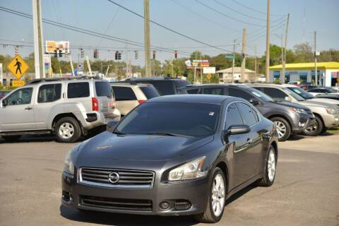 2012 Nissan Maxima for sale at Motor Car Concepts II - Kirkman Location in Orlando FL
