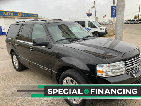 2012 Lincoln Navigator for sale at WF AUTOMALL in Wichita Falls TX