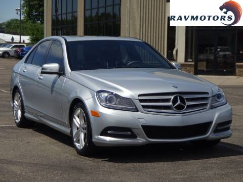 2014 Mercedes-Benz C-Class for sale at RAVMOTORS 2 in Crystal MN