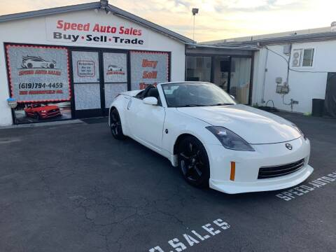 2007 Nissan 350Z for sale at Speed Auto Sales in El Cajon CA