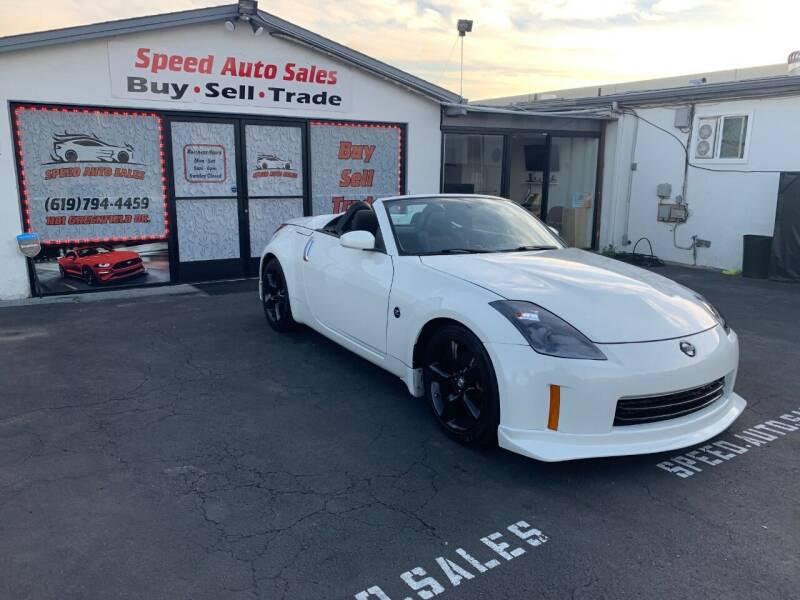 2007 Nissan 350Z for sale at Speed Auto Sales in El Cajon CA