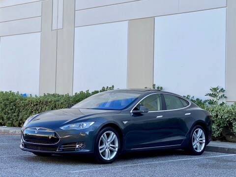 2015 Tesla Model S for sale at Carfornia in San Jose CA