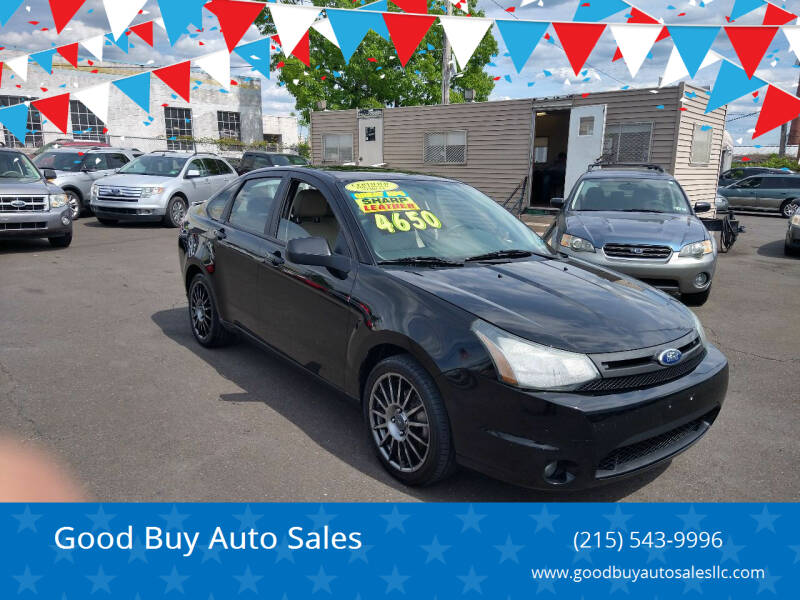 2011 Ford Focus for sale at Good Buy Auto Sales in Philadelphia PA