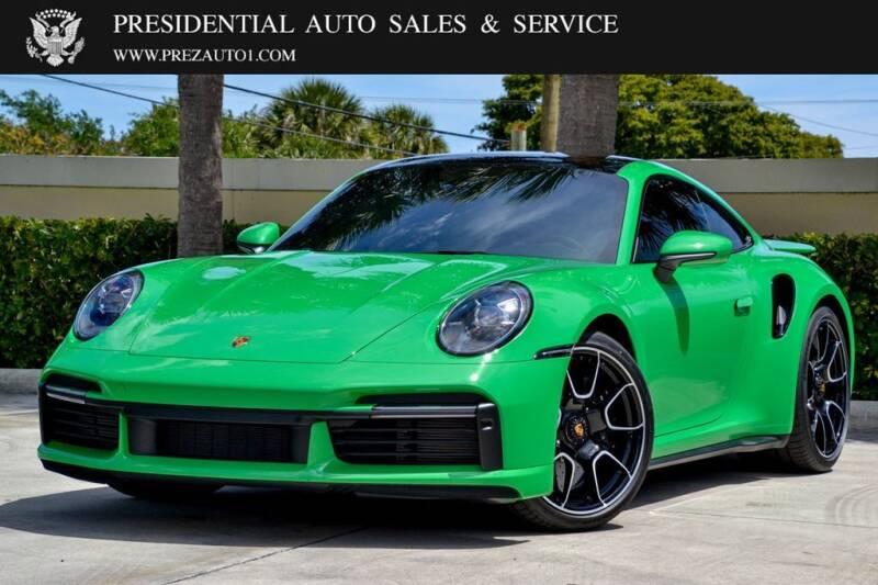 2021 Porsche 911 for sale at Presidential Auto  Sales & Service in Delray Beach FL