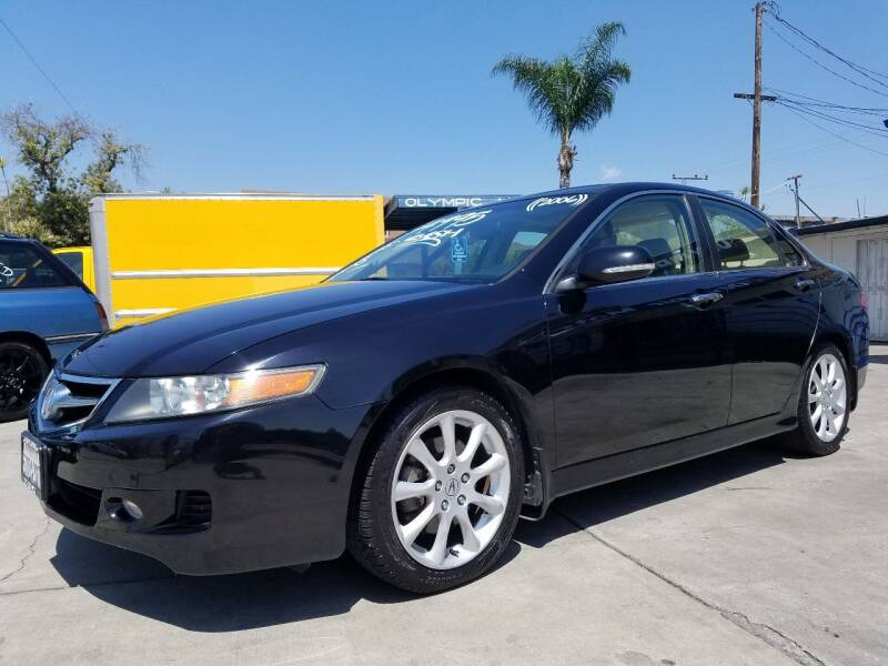 2006 Acura TSX for sale at Olympic Motors in Los Angeles CA