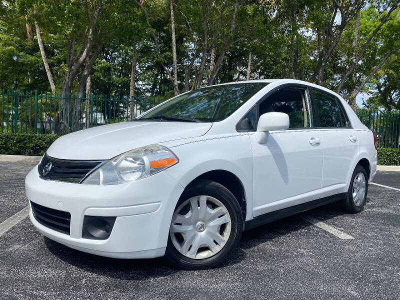2011 Nissan Versa for sale at LESS PRICE AUTO BROKER in Hollywood FL