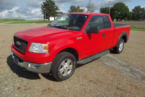 2004 Ford F-150 for sale at WESTERN RESERVE AUTO SALES in Beloit OH