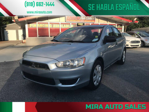 2009 Mitsubishi Lancer for sale at Mira Auto Sales in Raleigh NC