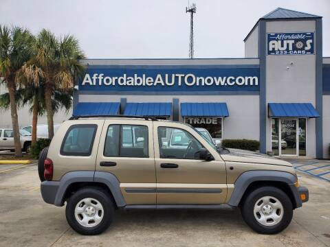 2005 Jeep Liberty for sale at Affordable Autos in Houma LA