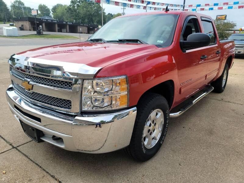 2012 Chevrolet Silverado 1500 for sale at County Seat Motors in Union MO