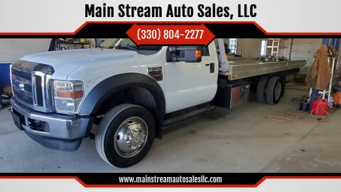 2008 Ford F-550 Super Duty for sale at Main Stream Auto Sales, LLC in Wooster OH
