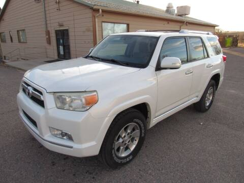 2012 Toyota 4Runner for sale at HOO MOTORS in Kiowa CO