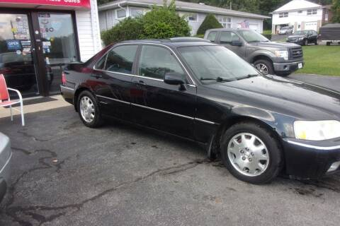 2003 Acura RL for sale at Dave Franek Automotive in Wantage NJ