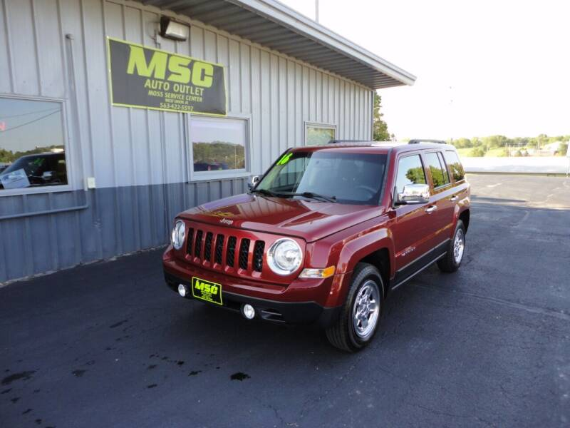 2016 Jeep Patriot for sale at Moss Service Center-MSC Auto Outlet in West Union IA