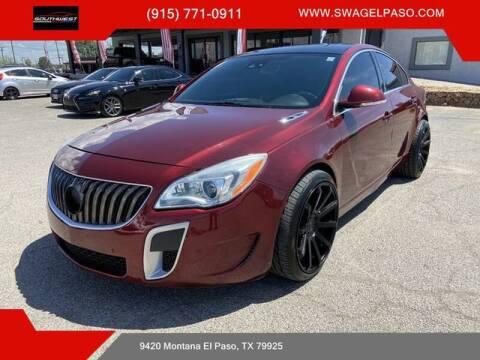 2016 Buick Regal for sale at SOUTHWEST AUTO GROUP-EL PASO in El Paso TX
