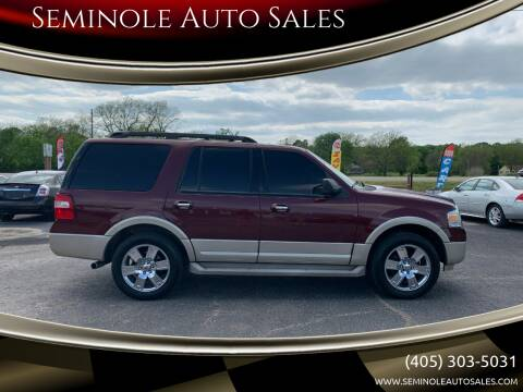 2010 Ford Expedition for sale at Seminole Auto Sales in Seminole OK