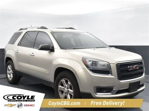 2014 GMC Acadia for sale at COYLE GM - COYLE NISSAN - New Inventory in Clarksville IN
