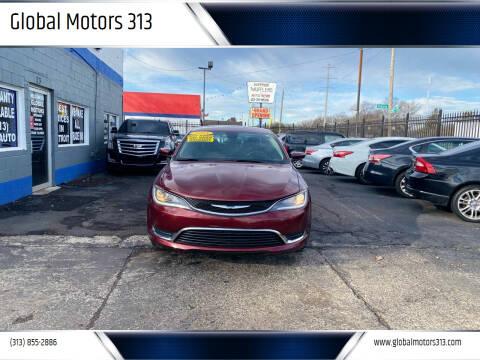 2015 Chrysler 200 for sale at Global Motors 313 in Detroit MI