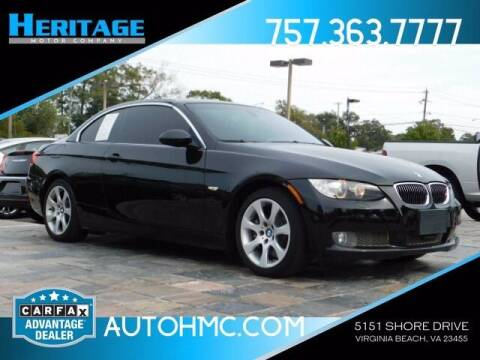 2007 BMW 3 Series for sale at Heritage Motor Company in Virginia Beach VA