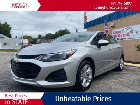 2019 Chevrolet Cruze for sale at Sunny Florida Cars in Bradenton FL