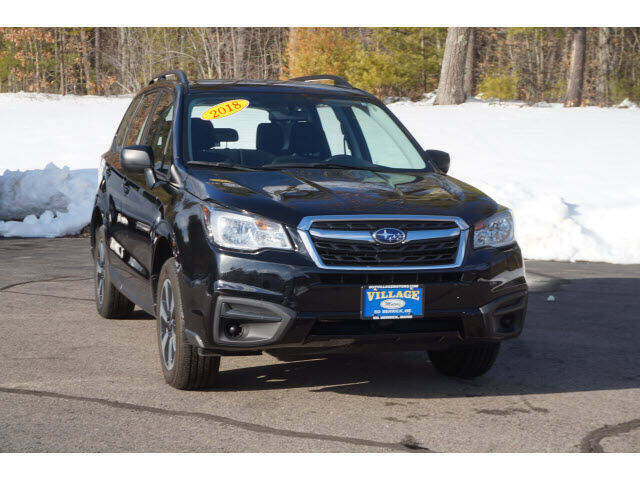 2018 Subaru Forester for sale at VILLAGE MOTORS in South Berwick ME