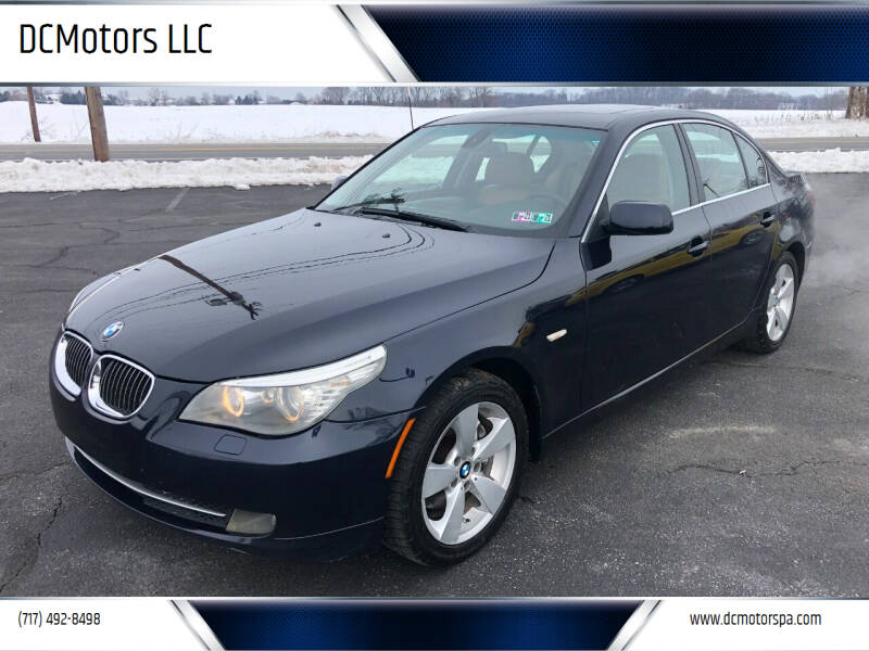 2008 BMW 5 Series for sale at DCMotors LLC in Mount Joy PA