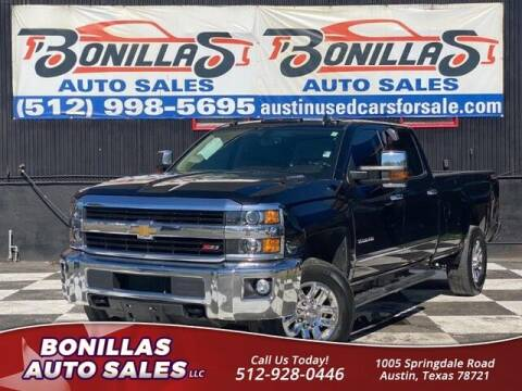 2016 Chevrolet Silverado 3500HD for sale at Bonillas Auto Sales in Austin TX