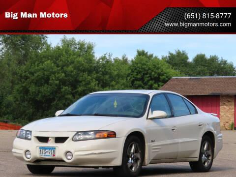2003 Pontiac Bonneville for sale at Big Man Motors in Farmington MN