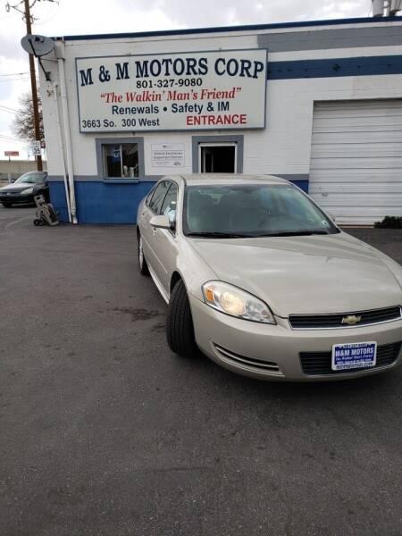 2010 Chevrolet Impala for sale at M&M Motors in Salt Lake City UT
