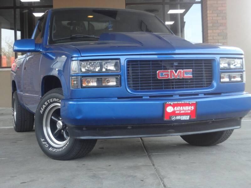 1995 GMC Sierra 1500 for sale at Arandas Auto Sales in Milwaukee WI
