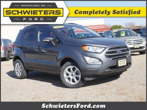 2019 Ford EcoSport for sale at Schwieters Ford of Montevideo in Montevideo MN