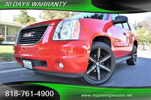 2009 GMC Yukon XL for sale at Prestige Auto Sports Inc in North Hollywood CA