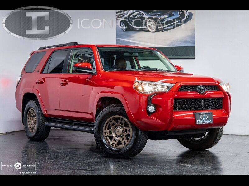 2016 Toyota 4Runner for sale at Iconic Coach in San Diego CA