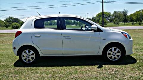2015 Mitsubishi Mirage for sale at H & H AUTO SALES in San Antonio TX